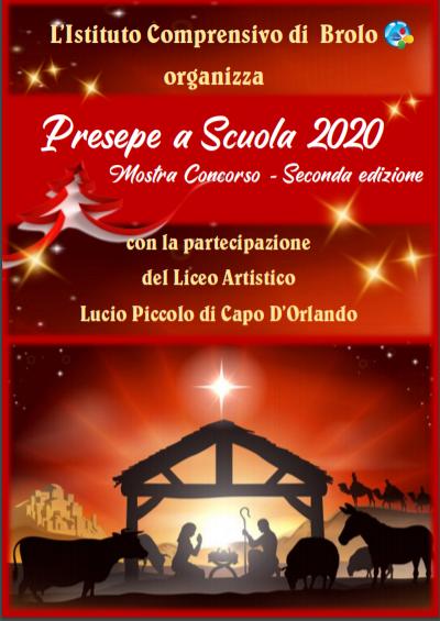 """Circolare n. 135 - II edizione del Concorso d'Istituto """"Il presepe a scuola"""" - A.S. 2020/21"""
